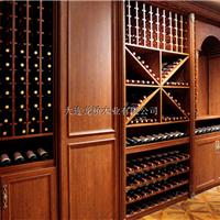 供应大连酒窖|实木酒窖设计定制|酒窖生产厂