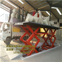 供应青海固定剪叉升降机,固定装卸货梯