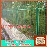铁丝隔离护栏 深圳工厂围栏 围墙铁丝网图片