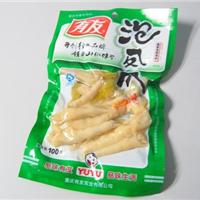 供应泡椒鸡脚抽真空包装袋 腊肉真空包装袋
