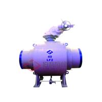 低温钢LF2全焊接球阀