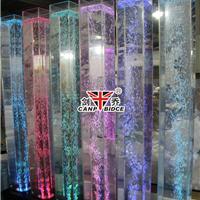 方形水柱,单管气泡水柱,亚克力水柱灯