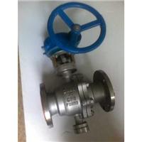 供应Q347F/PPL蜗轮固定球阀