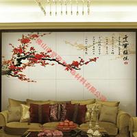 爱瓷艺有3D背景墙体饰材招商加盟 眉山水