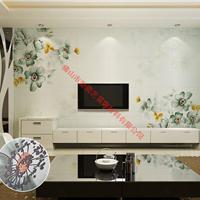 广州3D背景墙体饰材品牌招商 梦里生花