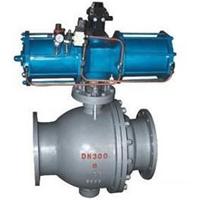 供应Q647MF气动喷煤粉球阀