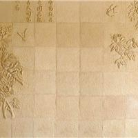 江西中式风格背景墙花草浮雕批发代理