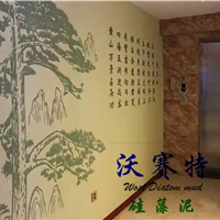 安庆硅藻泥,内墙涂料替代壁纸乳胶漆