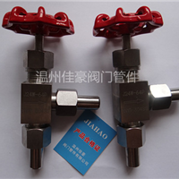 精品J24W-160P/64P/25P/16P角式针型阀