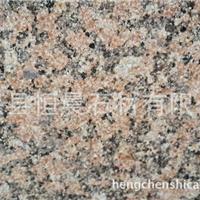 供应优质康保红花岗岩荔枝面外墙石材