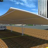 专业制作销售 新颖独特停车棚 膜结构停车棚