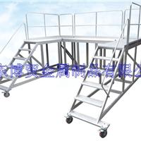 供应定制工作平台梯/移动登高梯/踏台梯