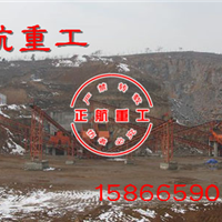 正航洗砂机供应矿山制砂生产线设备