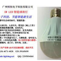 LED感应球泡灯,广州LED智能感应球泡灯厂家