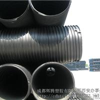 HDPE大口径塑钢缠绕管现货供应报价