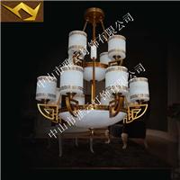 全铜云石灯饰,中式灯具高端大气