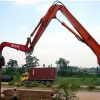 日立EX200挖土机打桩锤,打桩臂厂家销售