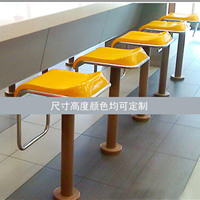 供应南宁市快餐粉店玻璃钢吧凳批发