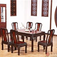 供应集古韵今红木餐厅家具146建国餐台