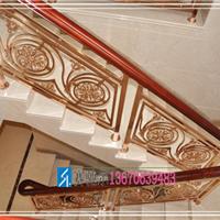 欧式风格不锈钢楼梯护栏 欧式浪漫主义护栏