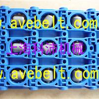 供应万向滚珠塑料网链厂家