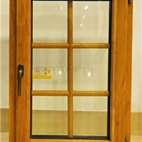 供应铝包木门窗封阳台,铝木复合门窗