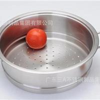 广东三A品牌厨具 不锈钢双耳蒸笼OEM贴牌