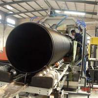 供应优质HDPE钢带增强螺旋波纹管