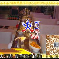 回转小火锅设备 旋转寿司麻辣烫烧烤设备