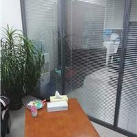 长沙铝合金边框百叶玻璃隔断墙厂家