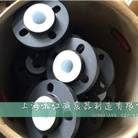 化工厂PVC法兰耐强酸碱内衬四氟橡胶软接头