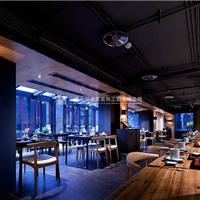 精致典雅―新古典日式风格日式料理店装修案