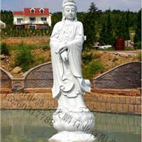 石雕观音 滴水观音雕刻  寺庙佛像雕塑