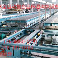 供应复合自保温砌块生产线 全自动化生产