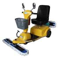 供应长期销售鼎洁TC600尘推车 驾驶式尘推车