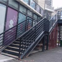 公用楼梯 不锈钢旋转门