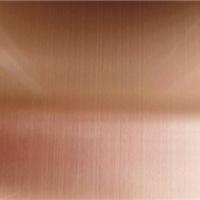 玫瑰金拉丝不锈钢门套剪折加工