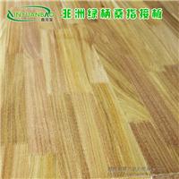 12mm非洲绿柄桑/圆盘豆指接板 集成板材