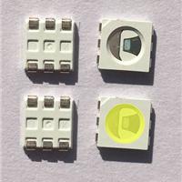 5050单晶正白单芯暖白高显自然白冷白灯珠
