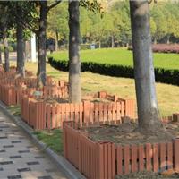 树围塑木花栏 厂家直销 广场木塑花箱批发