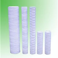 供应家用净水器滤芯 PP棉滤芯 线绕滤芯