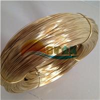 供应H62黄铜线 饰品黄铜线 黄铜扁线加工
