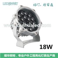 供应12W/18W太阳花LED投光灯/户外投射灯