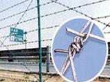 围墙铁丝网护栏 带刺铁丝网价格