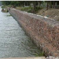 河道治理护坡脚格宾网箱