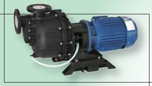 供应塑宝耐空转同轴废水处理自吸泵