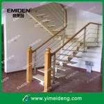 供应意美登楼梯新款室内直梁铁板楼梯