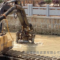 挖掘机液压驱动清淤泵 泥砂泵 抽沙泵