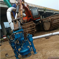 新式挖机改装抽沙泵,清淤泵,渣浆泵