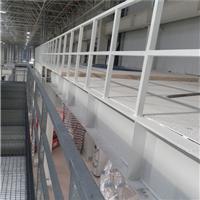 钢格板厂家直销 焊接型护栏 球型立柱护栏